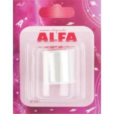 Нить невидимая, цв.белый (200м) Alfa AF-0207 (код 119)