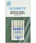 Иглы для бытовых швейных машин и оверлоков Microtex №60, (5 шт) (код 13)