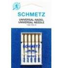 Иглы для бытовых швейных машин и оверлоков Universal №70 (2 шт), №80 (2 шт), №90 (1 шт)
