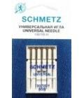 Иглы для бытовых швейных машин и оверлоков Universal №60 (5 шт) (код 13)
