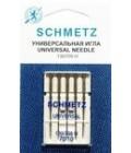 Иглы для бытовых швейных машин и оверлоков Universal №70 (5 шт) (код 13)