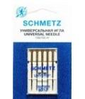 Иглы для бытовых швейных машин и оверлоков Universal №80, (5 шт) (код 13)