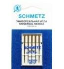 Иглы для бытовых швейных машин и оверлоков Universal №80, (5 шт)