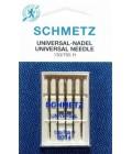 Иглы для бытовых швейных машин и оверлоков Universal №90 (5 шт) (код 13)