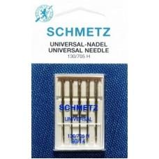 Иглы для бытовых швейных машин и оверлоков Universal №90 (5 шт)