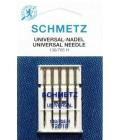 Иглы для бытовых швейных машин и оверлоков Universal №120 (5 шт) (код 13)