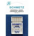 Иглы для бытовых швейных машин и оверлоков Universal №120 (5 шт)
