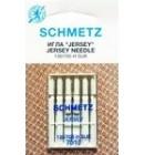 Иглы для бытовых швейных машин и оверлоков Jersey №70 (5 шт).