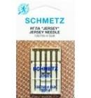 Иглы для бытовых швейных машин и оверлоков Jersey №90 (5 шт)