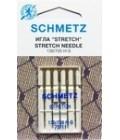 Иглы для бытовых швейных машин и оверлоков Stretch №75 (5 шт) (код 13)