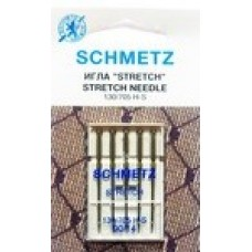 Иглы для бытовых швейных машин и оверлоков Quilting №75 (3 шт), №90 (2 шт)