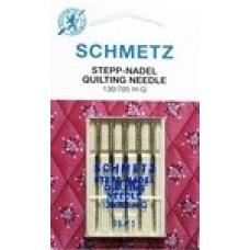 Иглы для бытовых швейных машин и оверлоков Quilting №75 (5 шт)