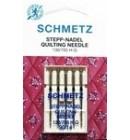Иглы для бытовых швейных машин и оверлоков Quilting №90 (5 шт)