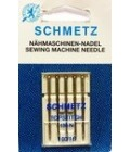 Иглы для бытовых швейных машин и оверлоков topstitch №100 (5 шт)