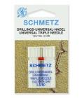 Иглы Schmetz тройные универсальные № 80/3 1 шт. (код 14)