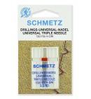 Иглы Schmetz тройные универсальные № 80/3 1 шт.