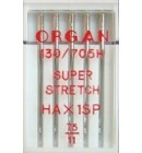 Иглы Organ суперcтрейч №75