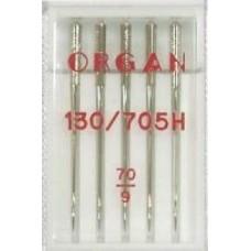 Иглы Organ стандартные № 70