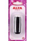 Нить элластичная (резинка) 25м Alfa AF-1111 черная (код 112)