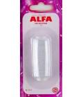 Нить элластичная (резинка) 25м Alfa AF-1111 белая (код 112)